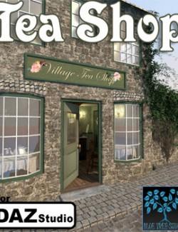 Tea Shop for Daz Studio