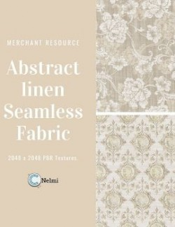 Abstract Linen Fabric Textures