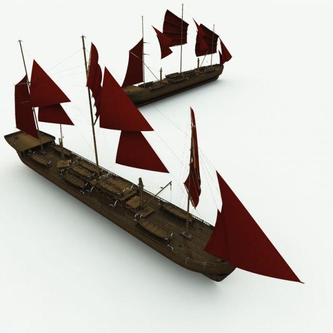 Orc Whaler Ship for Poser