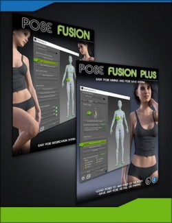 Pose Fusion Plus Bundle for Genesis to Genesis 8