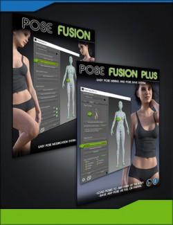 Pose Fusion Plus Bundle for Genesis to Genesis 8