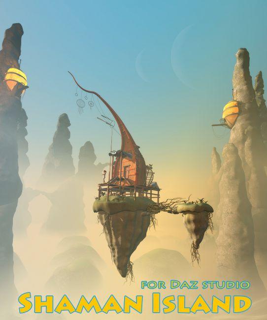 Shaman Island for Daz studio