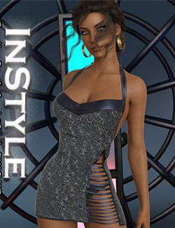 InStyle - dForce Hype Dress for Genesis 8 Females