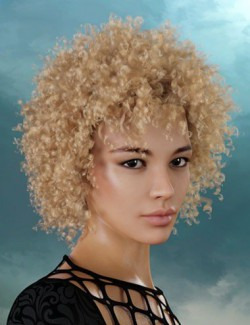 Yara Hair for Genesis 8