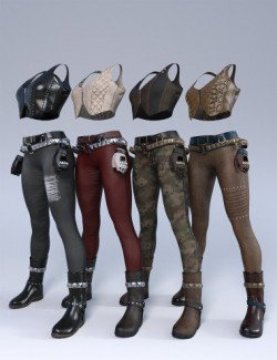 Road Warrior Outfit Textures