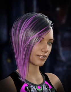 Cyberpunk Hair for Genesis 8 Female