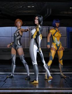 S3D Super Hero Suit Textures