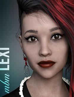 MbM Lexi for Genesis 3 & 8 Female