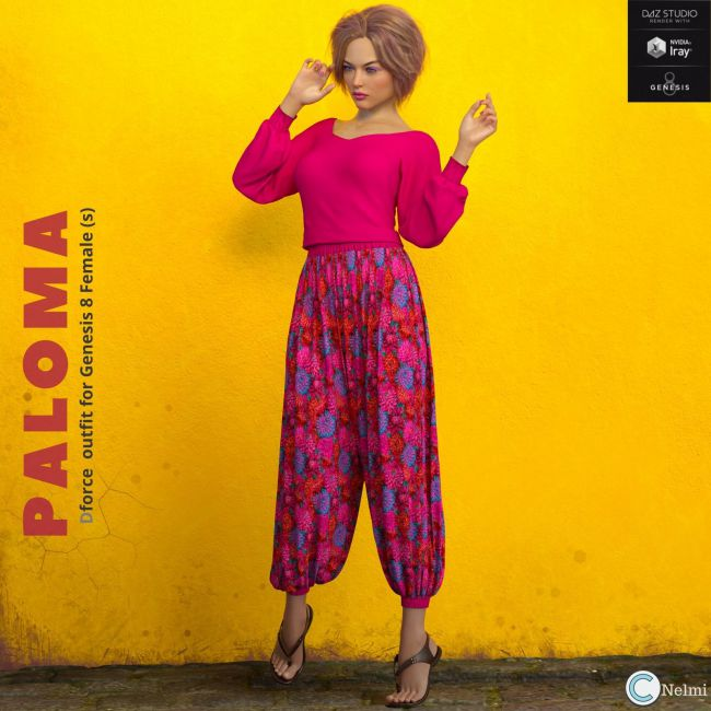 Paloma Outfit G8F