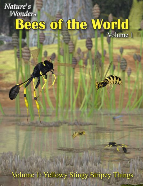 Nature's Wonders Bees of the World Vol. 1