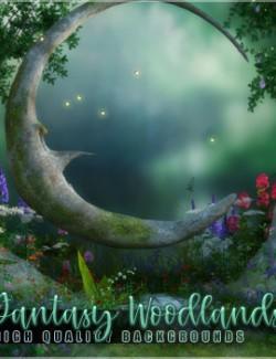 Fantasy Woodlands Backgrounds