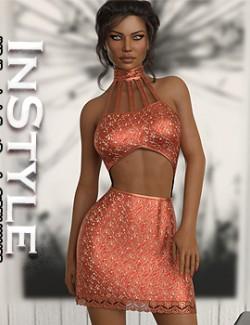 InStyle- JMR dForce Layla Short Dress for G8F