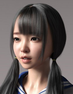 Xiao Yun and Expressions for Genesis 8 Female