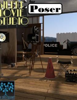 Silent Movie Studio for Poser