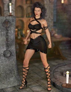 Awerie Outfit for Genesis 8 Female(s)