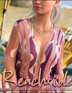 Beachside for dForce Beach Cover Up for Genesis 8 Female(s)