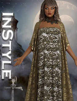 InStyle- dForce- Guinevere Outfit for G8F