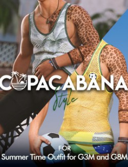 Copacabana Style Textures for Summer Time G8M