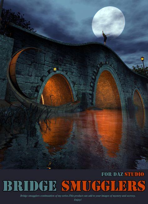 Bridge Smugglers for Daz Studio