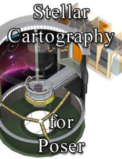 Stellar Cartography Lab for Poser