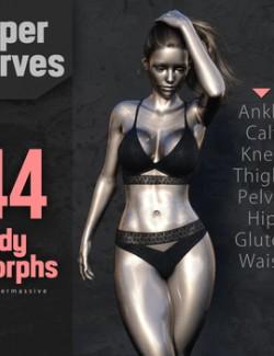 Super Curves Body Morphs G8F