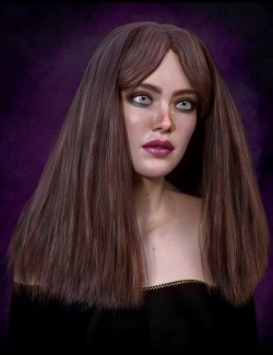 Biscuits Flo Hair with dForce for Genesis 8 Female(s)