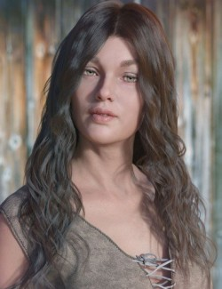 dForce Ezra Hair for Genesis 8