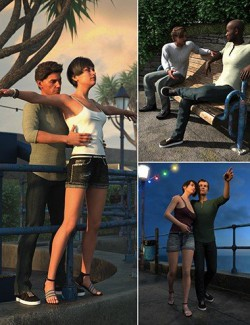 Along The Prom Poses for Genesis 8