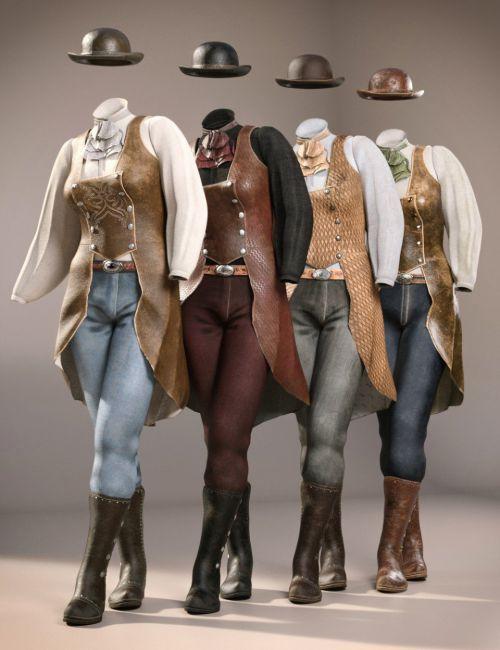 dForce Missi Judge Outfit Textures