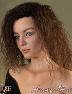 Prae-Aranya Hair For G8 Daz