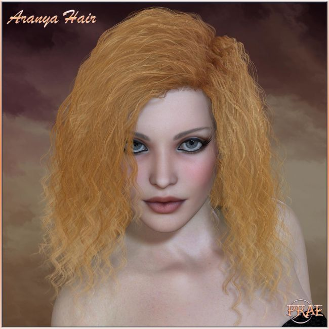 Prae-Aranya Hair for Poser