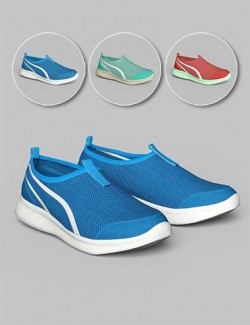 S3D Casual Sneakers for Genesis 8 Female(s)