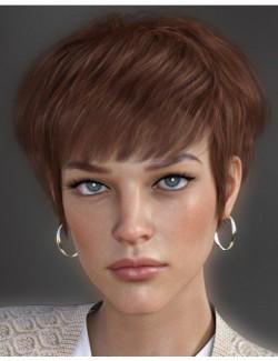 Bayla Hair for Genesis 8 Female(s)