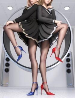 SVM's Separate High Heels for Genesis 8 Female(s)