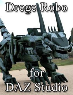 Drege Robo for DAZ Studio