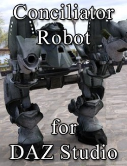 Conciliator Robot for DAZ Studio