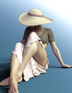 X-Fashion Tropical Print for Genesis 8 Female(s)