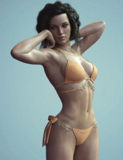 X-Fashion Chic Bikini for Genesis 8 Female(s)