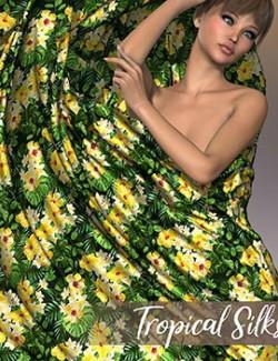 Poser- Tropical Silks