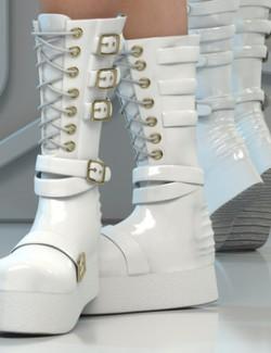 La Witch Boots
