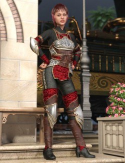 Hounds Guard Outfit for Genesis 8 Female(s)