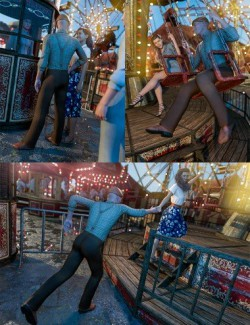 A Swinging Good Time Poses