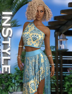 InStyle - JMR dForce Riane Outfit for G8F