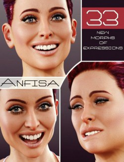 Anfisa Expressions for Genesis 8 Female