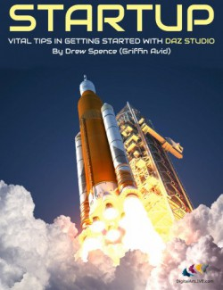 Startup: Vital Tips in Getting Started with DAZ Studio