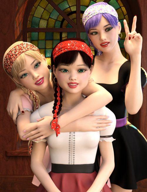Violetta for Genesis 8 Female