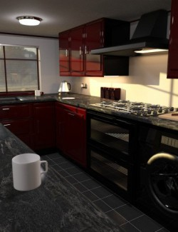 Modern Shaker Style Kitchen