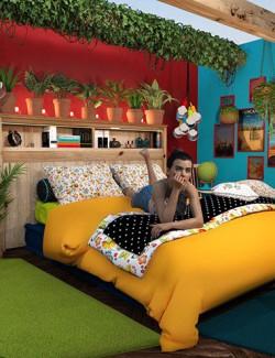 Boho Cottage: The Bedroom