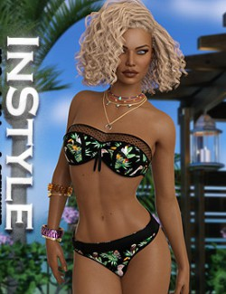 InStyle- JMR dForce Lesli Swimwear for G8F