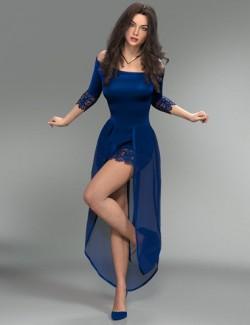dForce Aimee Lynn Outfit for Genesis 8 Female(s)